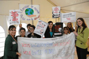 Photo de la COP 21 des étudiants organisée par l'ISEADD © ISEADD