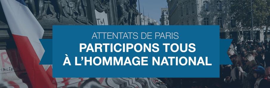 Hommage national : le gouvernement invite tous les Français à y participer
