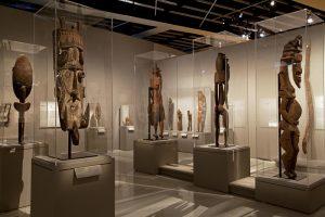 Musée du Quai Branly. Exposition : Sepik
