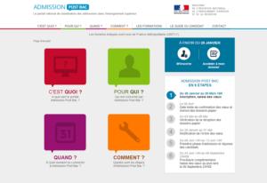 Le site Admission Post Bac permet de se renseigner sur les formations du supérieur, avant de s'inscrire.