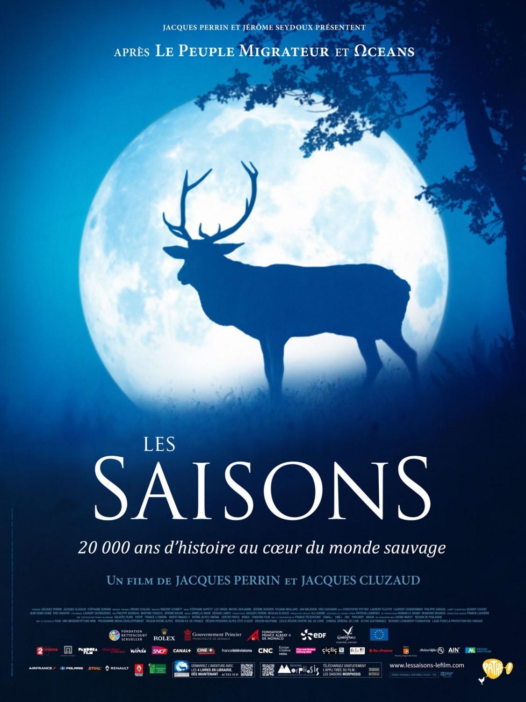 L'affiche du film Les Saisons, de Jacques Perrin et Jacques Cluzaud