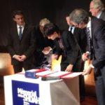 Journée internationale en mémoire des victimes de l'Holocauste : signature de la convention Histoire et Mémoire