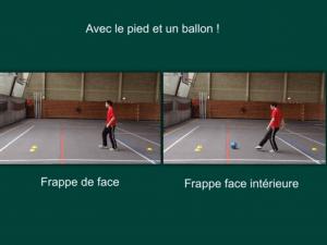 Le contrôle de balle et la passe / Julien Andriot