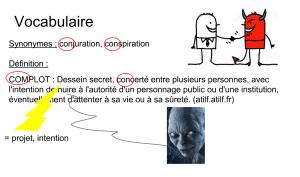 Les théories du complot / Présentation sur Google Slides de Lionel Vighier