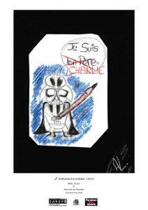 L'un des dessins recueilli par l'association Dessinez, Créez, Liberté