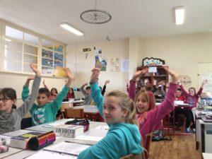 Les élèves d'A. Mariottat conçoivent eux-mêmes des capsules, qui constituent une partie du cours.