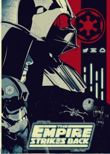 Les 3e Star Wars ont conçu des affiches basées sur celles utilisées par la propagande nazie. Une façon d'étudier un point du programme d'Histoire d'une façon active et ludique.