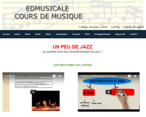 Cours sur le Jazz / Classe Inversée d'I. Bougault