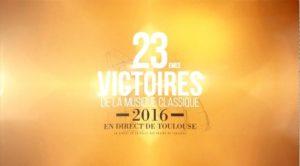 Victoires de la Musique Classique 2016