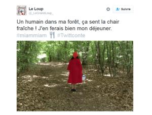 Le twittconte des CM1/CM2 de Régis Forgione et Bruno Mallet mêle texte et photos.