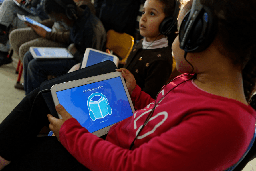Pour une lecture autonome : découverte de l'application la «Machine à lire»