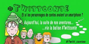 """Le 2e """"twitttconte"""" de Régis Forgione et Bruno Mallet portait sur le Petit Poucet."""