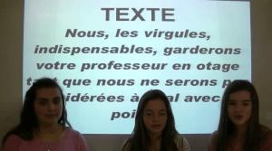 """""""La fonction des adjectifs qualificatifs"""" / Une capsule conçue par les élèves de J-M- Lejeune"""