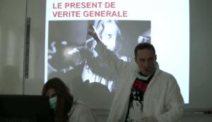 """""""Les valeurs du présent"""" / les élèves de J-M Lejeune participent à ses capsules"""