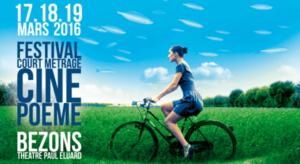 Le Festivak Ciné Poème se tiendra du 17 au 19 mars à Bezons
