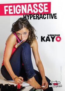 Affiche Feignasse Hyperactive - Comédie des Boulevard - HD