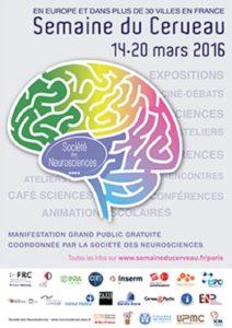 Affiche semaine du cerveau 2016
