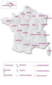 Carte des académies / (©) MEN