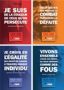La campagne d'affiche menée par le ministère et la LICRA