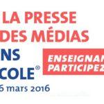 Semaine de la presse et des médias dans l'école : des ressources pour lancer la 27e édition