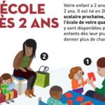 Forte mobilisation pour développer la scolarisation des enfants de moins de 3 ans