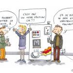 Réforme du collège : révolte autour de la machine à café !