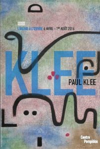 Affiche expo Paul Klee