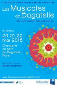 Musicales de Bagatelle 2016