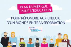 """""""Le plan numérique à l'École"""" / Ministère de l'Education Nationale"""