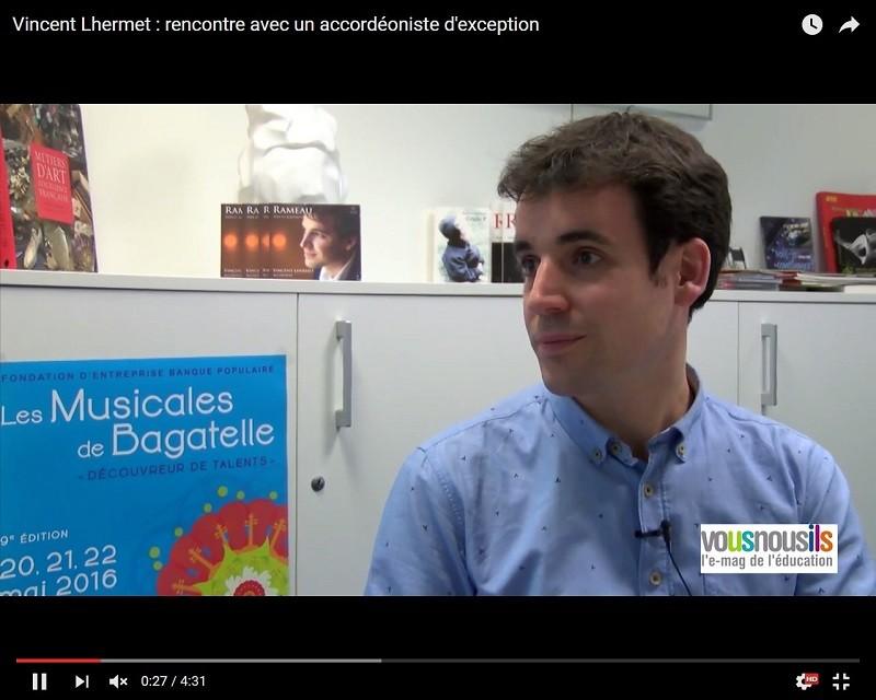 Vincent Lhermet : rencontre avec un accordéoniste d'exception
