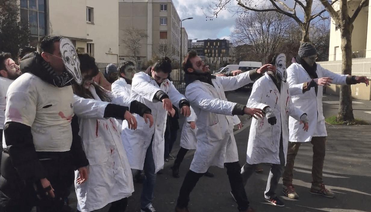 Education prioritaire : en colère, les «profs zombies» de Colombes organisent une «Garden Party»