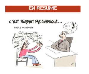 """""""Guide de survie à la réforme » du collège du collectif """"Où est le prof doc"""" / Dessin de Daz (@dazzdoc)"""