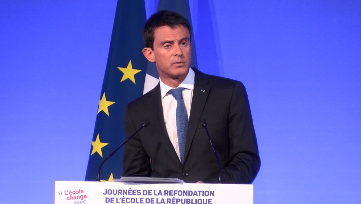 Augmenter l'ISAE et les salaires des enseignants : «la moindre des choses» (Manuel Valls)