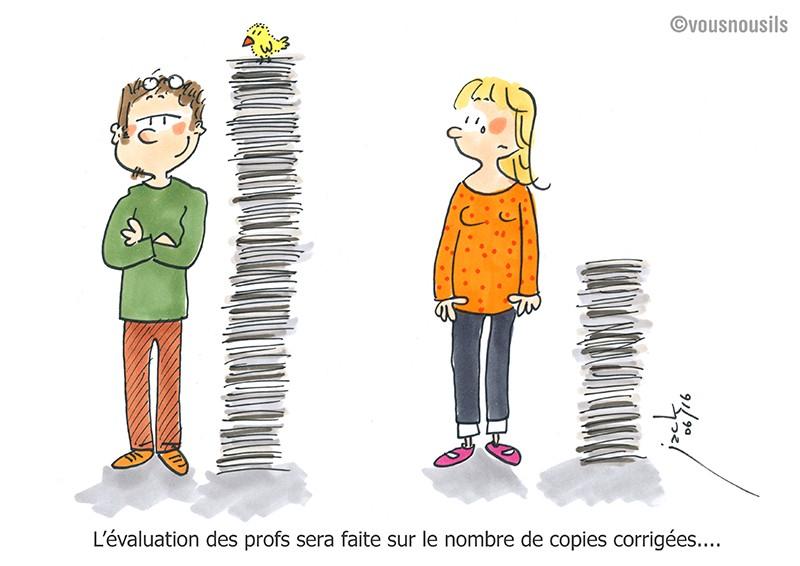 Evaluation : les profs veulent corriger la copie du ministère !