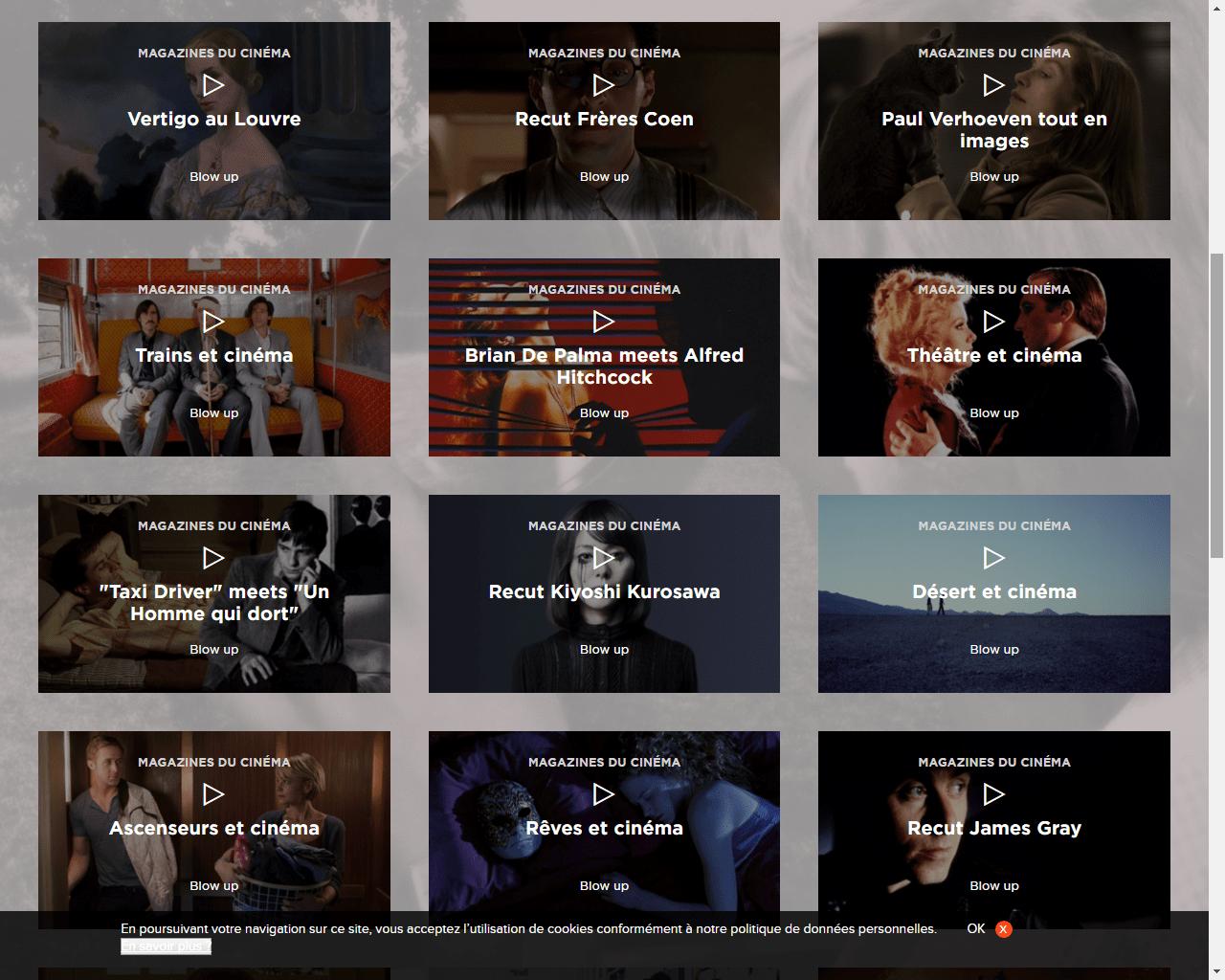Blow Up : la fabuleuse web-série d'Arte sur le cinéma