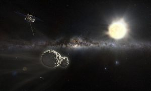 Rosetta et Philae © Stéphane Masclaux