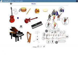 Capture écran site LanguageGuide.org