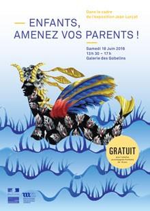 """""""Enfants, amenez vos parents !"""" le 18 juin à la Galerie des Gobelins"""