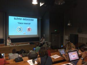 """Christophe Le Guelvouit, prof de maths à Bourges, utilise classe inversée, plans de travail et tâches complexes pour """"rendre ses élèves créateurs"""" et différencier."""
