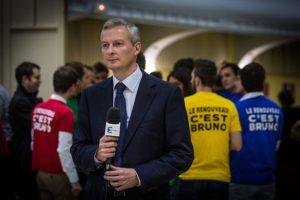 Bruno Le Maire, réunion publique à Strasbourg le 21 novembre 2014 / Claude TRUONG-NGOC / Licence CC / Wikimedia