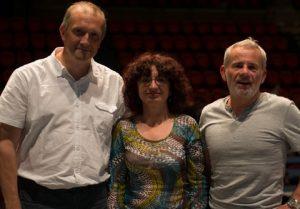 Régis Metzger, Francette Popineau et Christian Navarro, les nouveaux co-secrétaires généraux du SNUipp-FSU