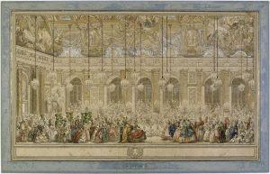 Bal masqué donné pour le mariage du dauphin / Cochin Charles Nicolas, le Jeune, 1745 / Paris, musée du Louvre, D.A.G.