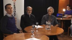 Les experts Jean-Pierre Bibring, Michel Viso et Jérémie Vaubaillon