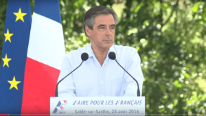 François Fillon - Capture d'écran Youtube