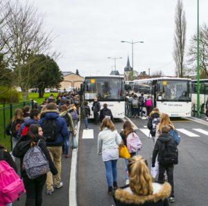 Transport scolaire dans le département de l'Eure / ArnoD27 / Licence CC Wikimédia