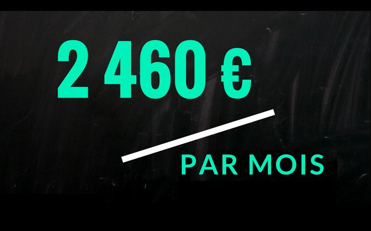 2460 € par mois : un salaire moyen peu représentatif pour les profs