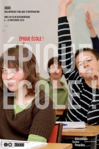 Affiche Epique école