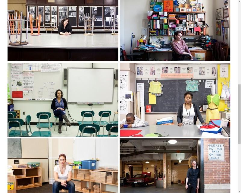 «See me after school» : photos de profs après les cours