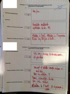 """L'évaluation sommative permet à D. Bouchillon de """"voir les difficultés individuellement"""""""