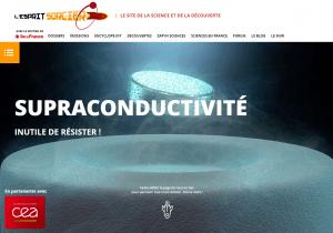 """Premier dossier réalisé par le CEA et l'Esprit Sorcier, afin de """"vulgariser les sciences""""."""